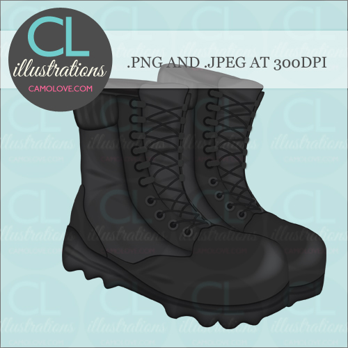clipart of military boots - photo #40