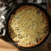 German Plum Cake with Streusel - Pflaumenkuchen