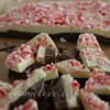 Peppermint Bark with Dark and White Chocolate