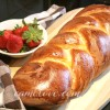 Vanilla Easter Braid Bread