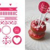 Valentine's Day Printable for Decorating your Sweets