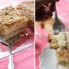 Moist Cinnamon Swirl Coffee Cake with Walnut Crunch Topping