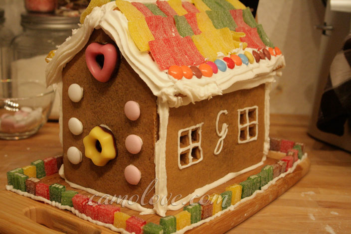 Gingerbread House from Scratch
