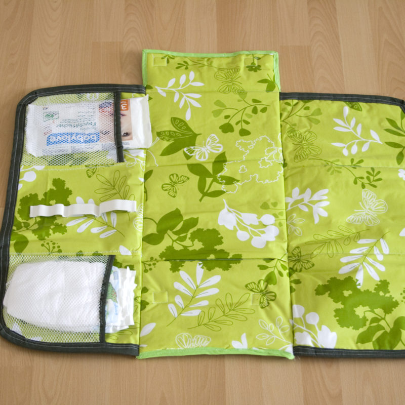 Changing Pad – my first sewing project