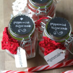 Peppermint Sugar Scrub Packaging