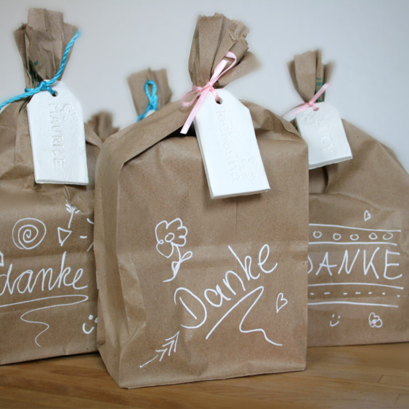 White Clay Gift Tags