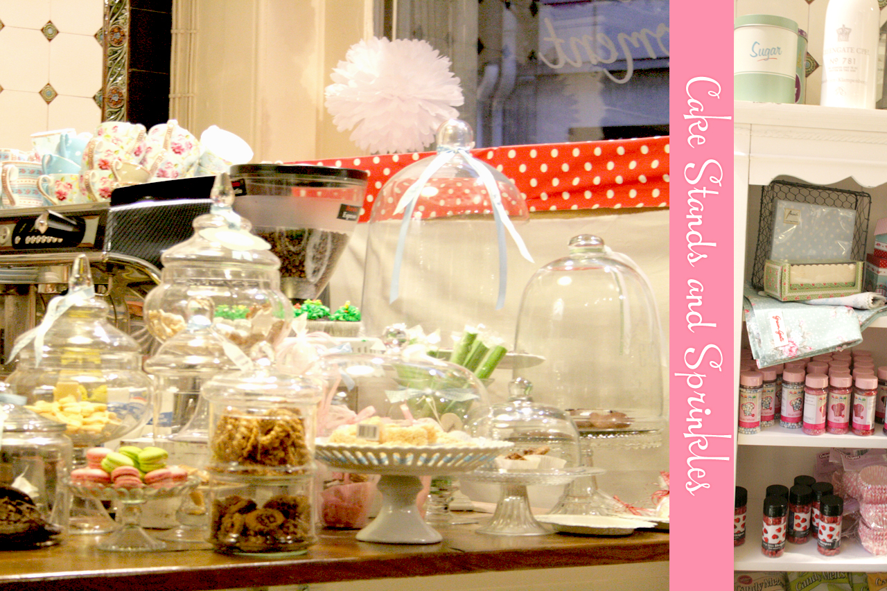 Cake Stands and Sprinkles