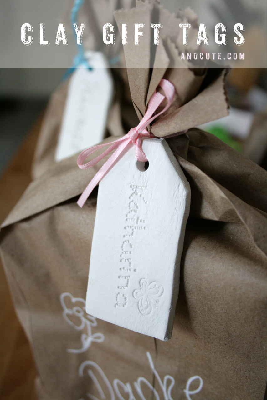 Clay Label Gift Tags