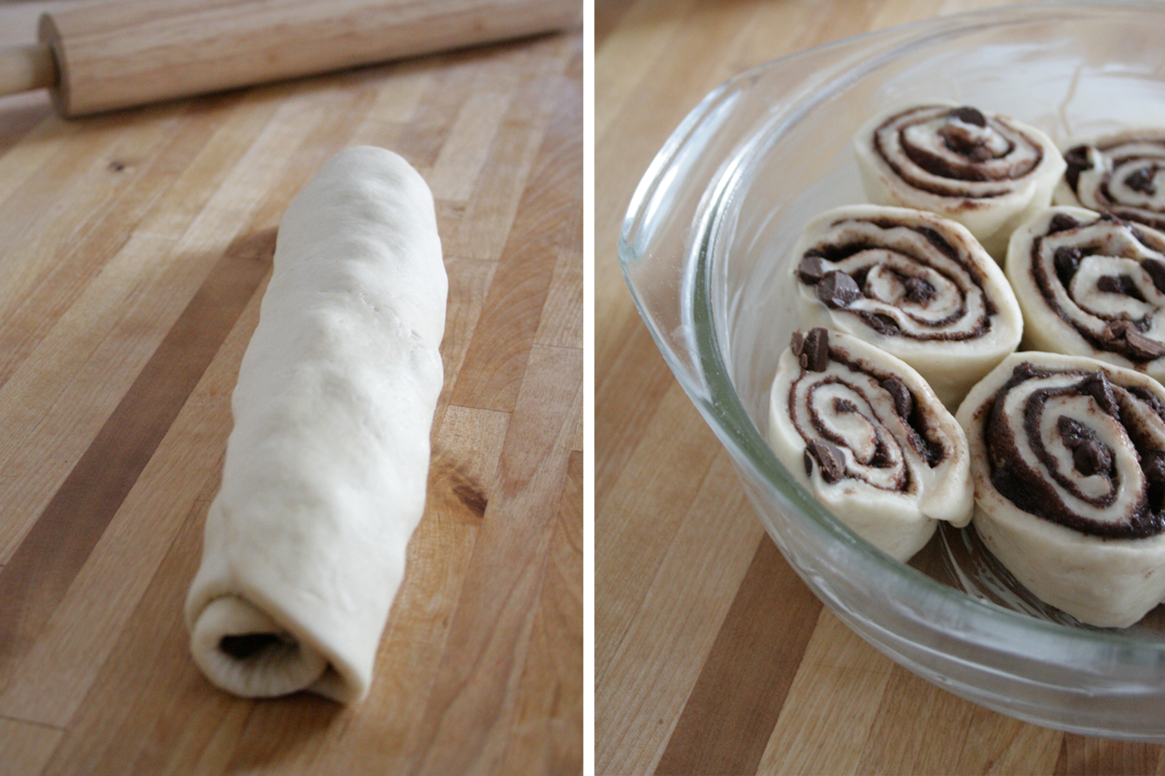Dough Roll and Raw Buns