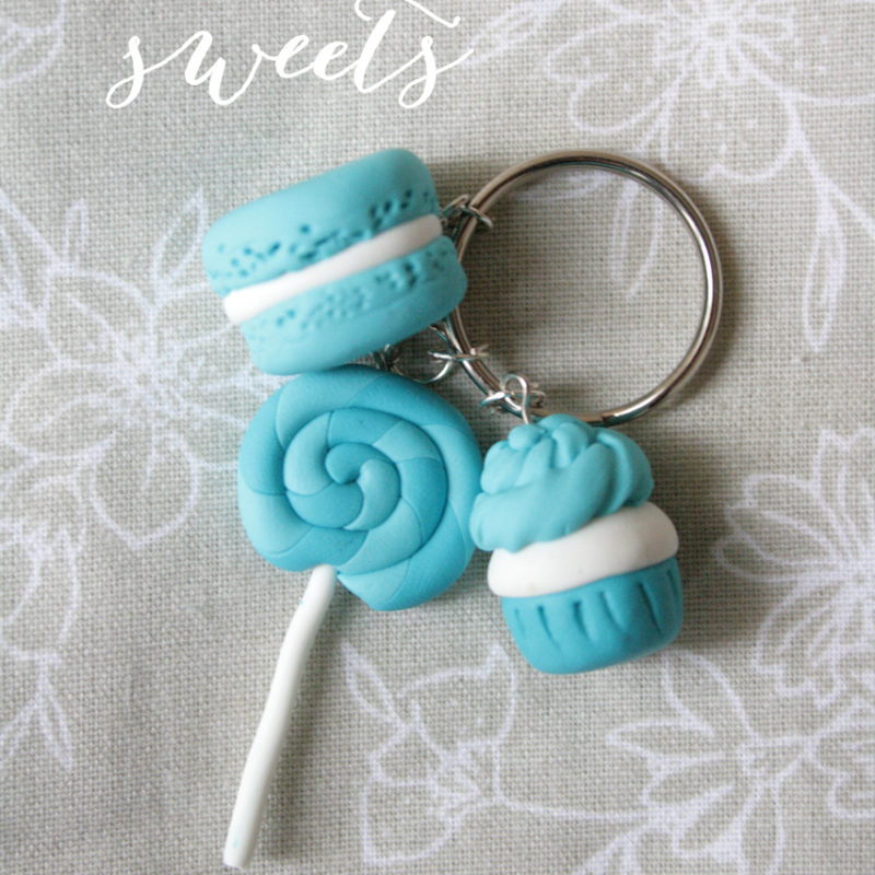 Polymer Clay Sweets Charms