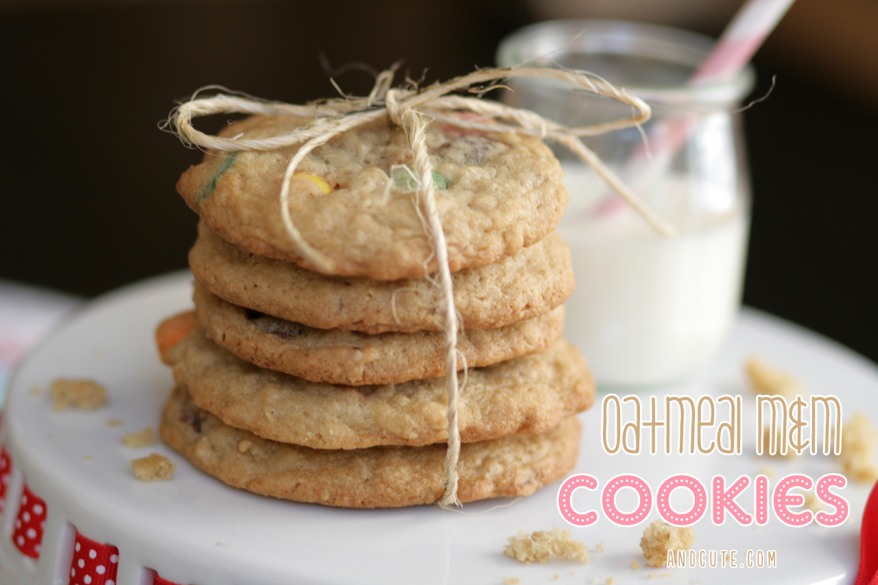 Oatmeal MnM Cookies