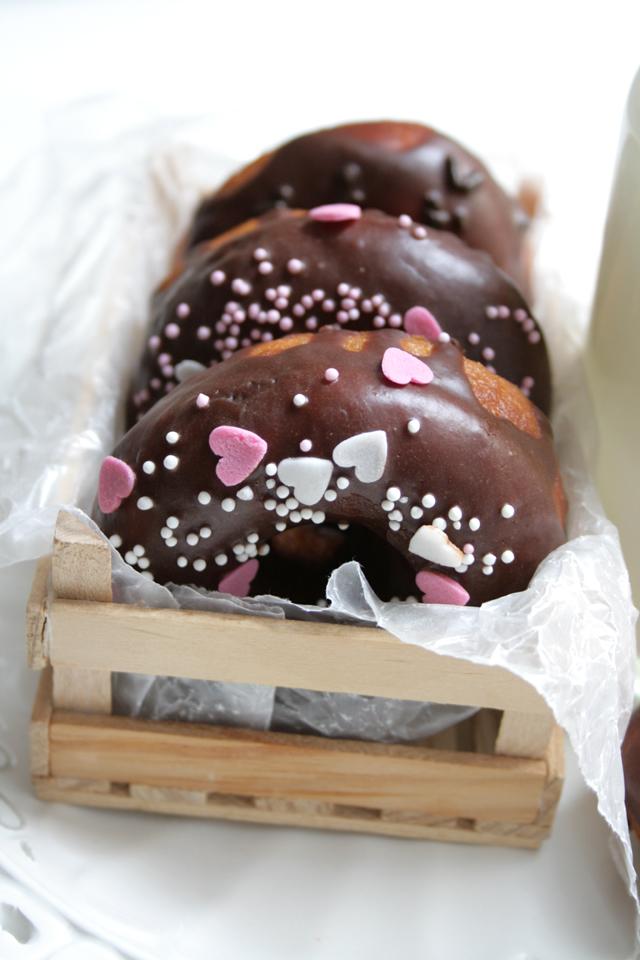 Choco Donuts in Wodden Box
