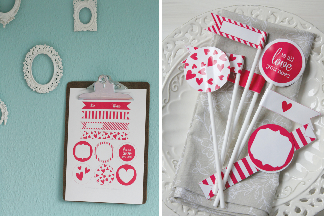 Valentines Day Printable Material