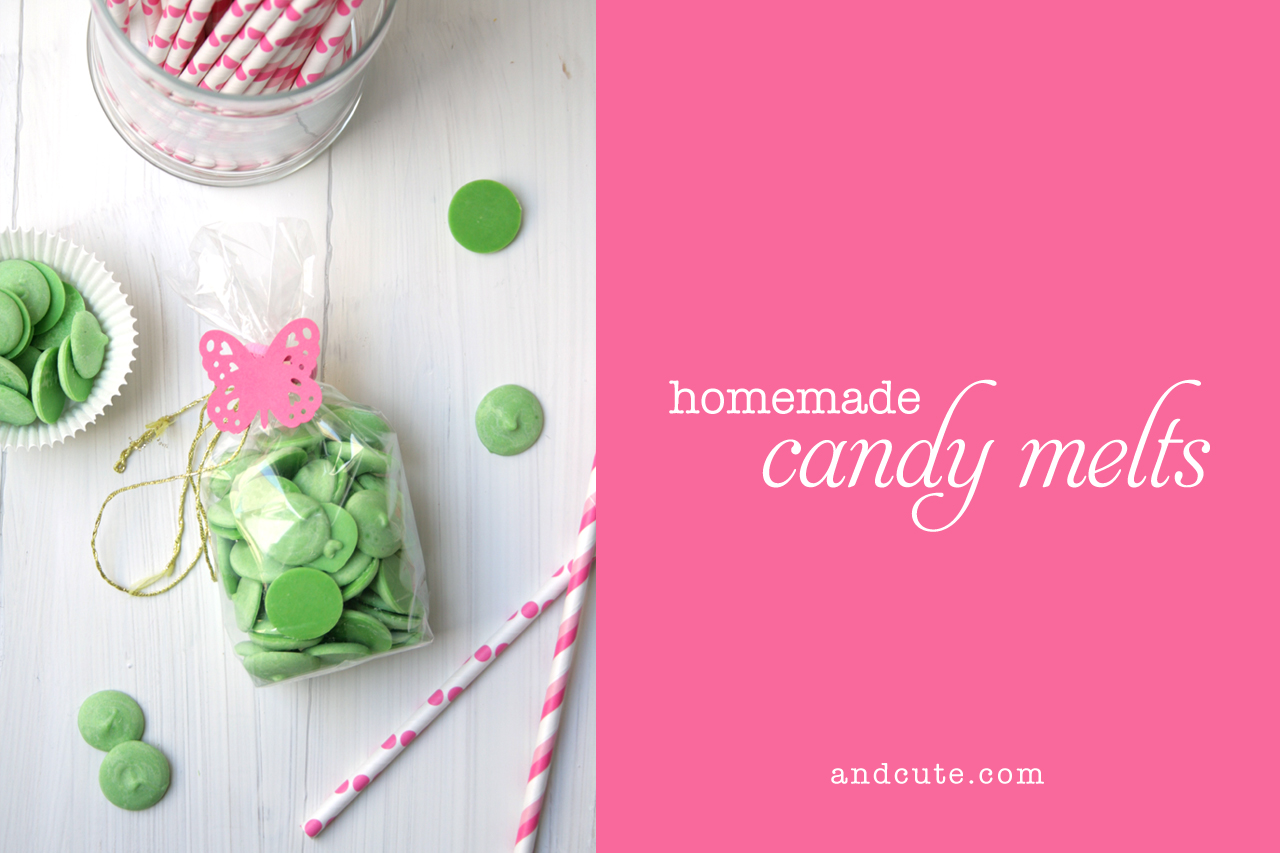 Giftwrapped Homemade Candy Melts