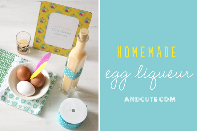 Homemade Advocaat Eierlikoer Egg Liqueur