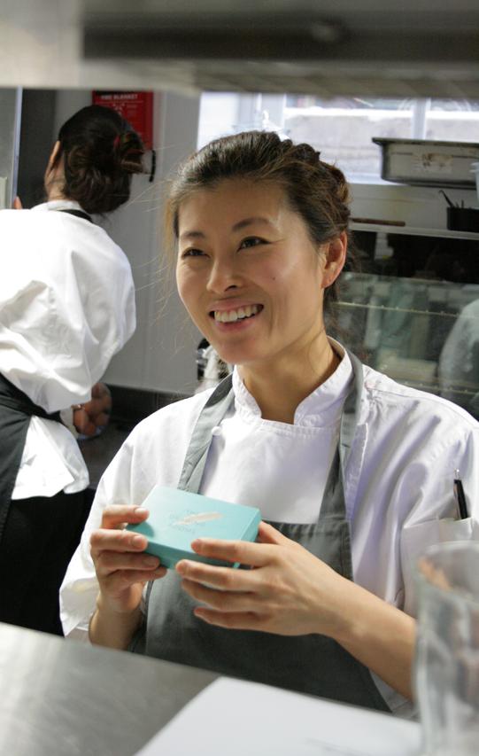 Pastry Chef Ji Sun Chin
