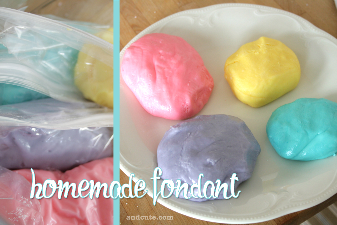 Marshmallow Fondant Recipe