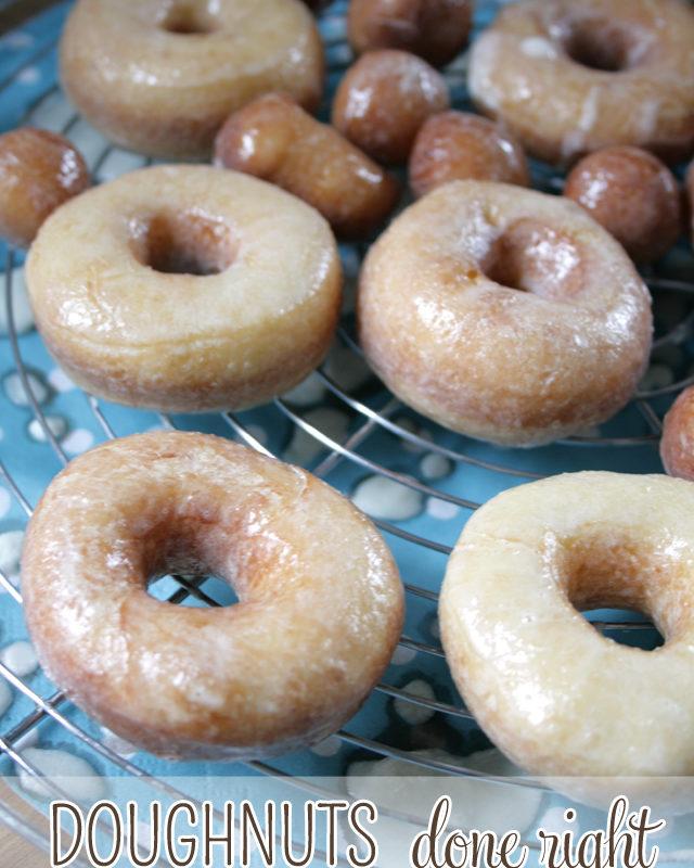 Perfect Doughnuts ala Krispy Kreme