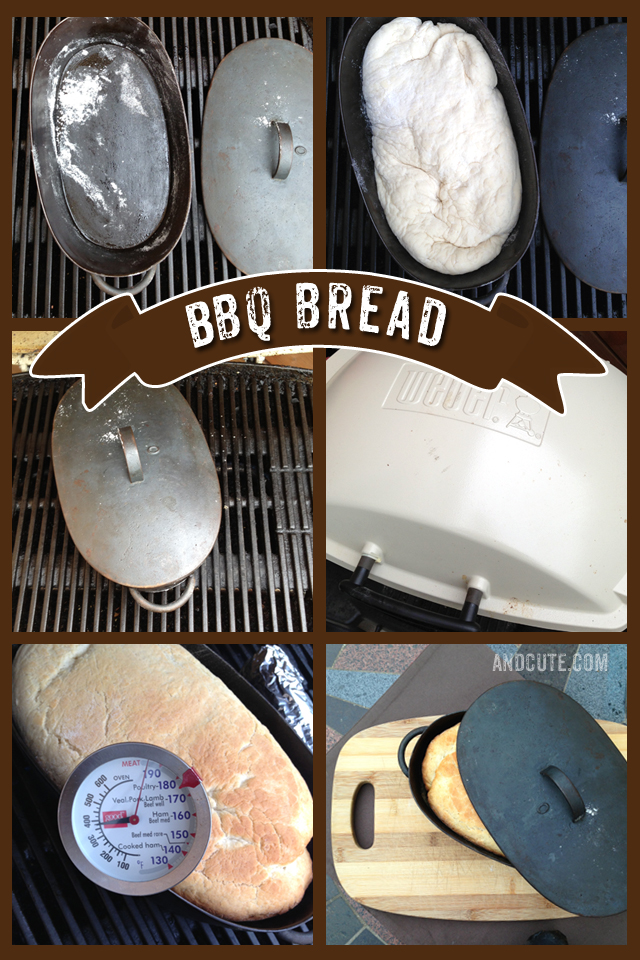 How to make Bread on the BBQ