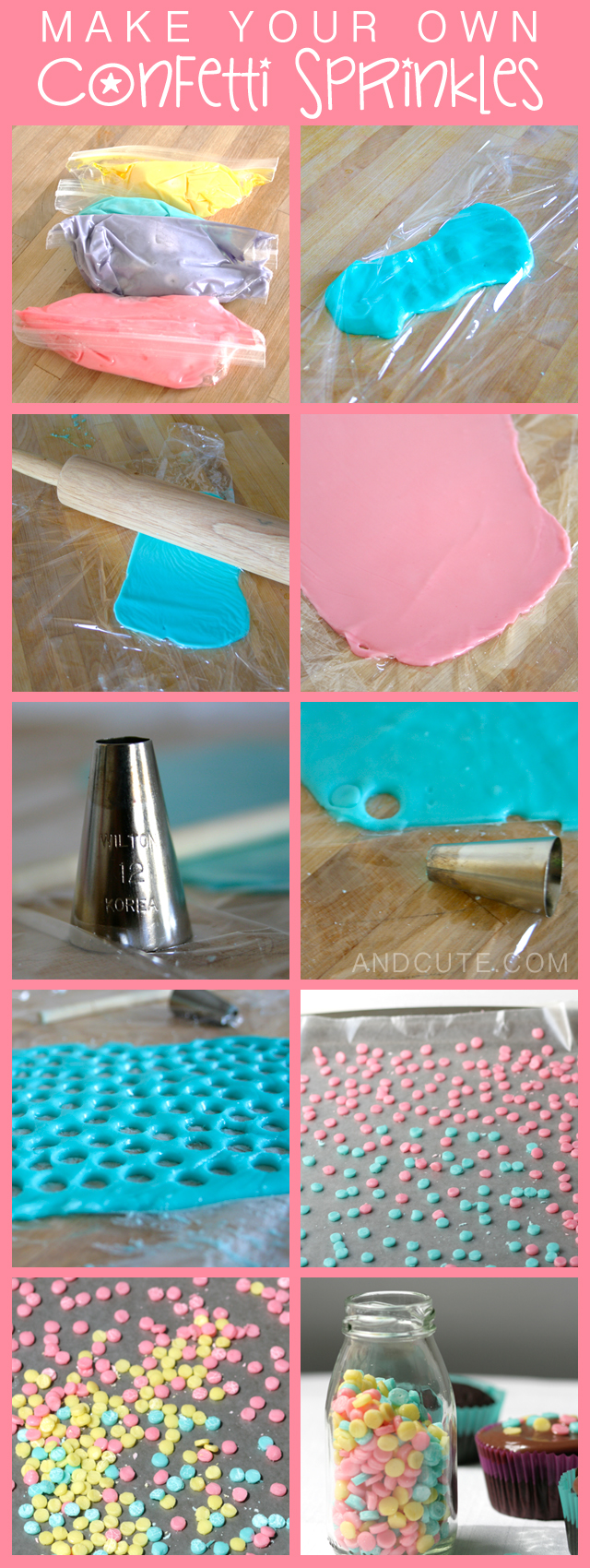 How to make Confetti Sprinkles