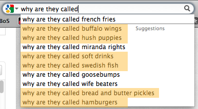 Why Are They Called Google Results