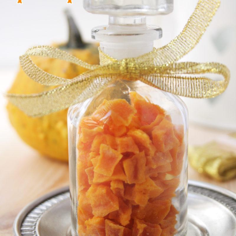 Candied Pumpkin Bits