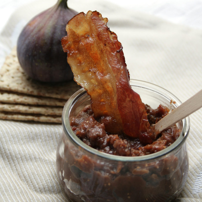 Smokey Fig and Bacon Dip