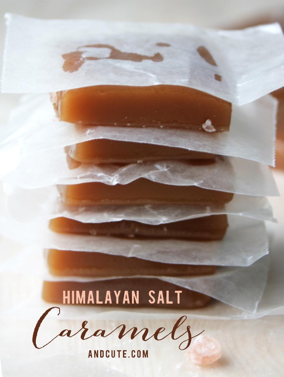 Himalayan Salt Caramels