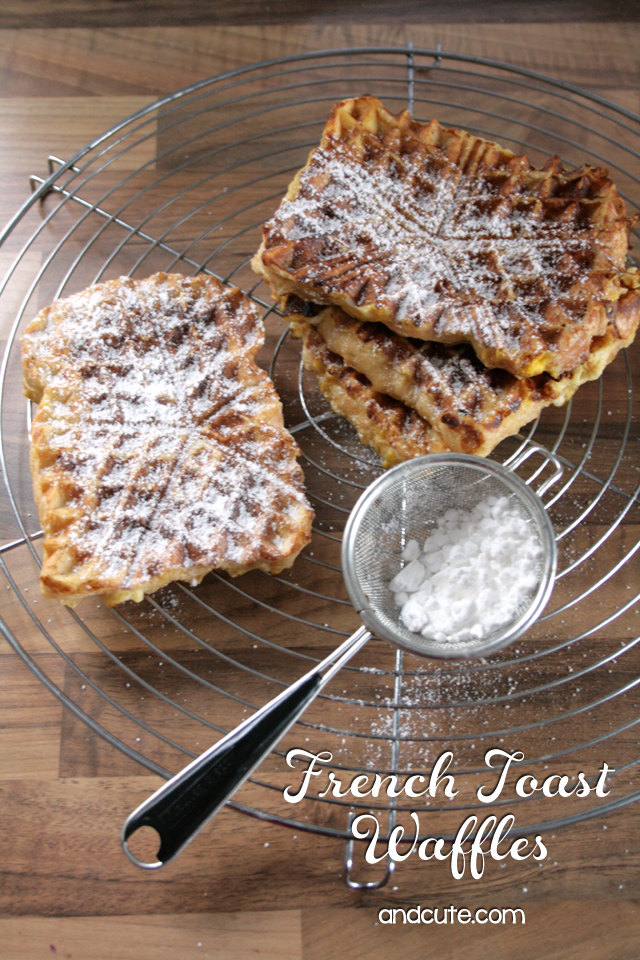 French Toast Waffles – Toaffles