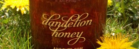 Dandelion Honey with Label