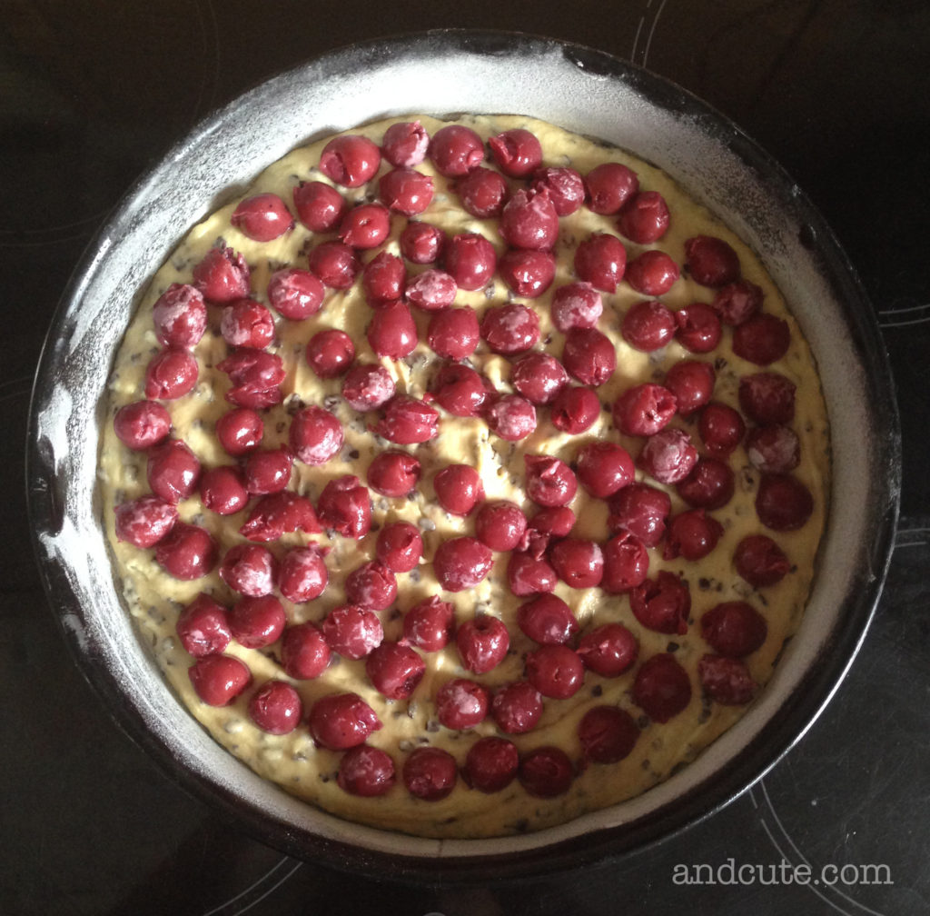 Kirschlikuchen Cherry Choco Cake