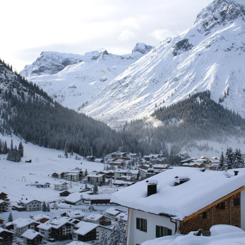 Ski Vacation in Lech Austria