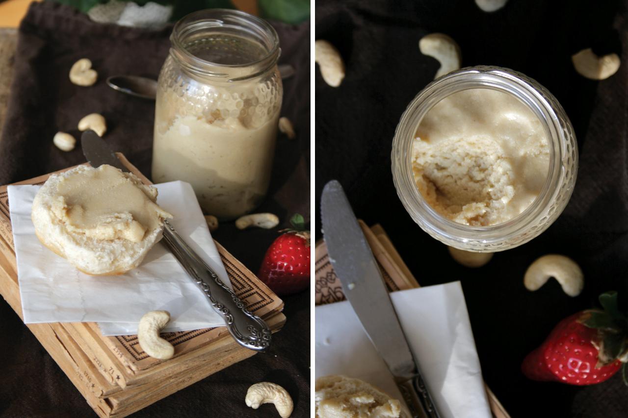Cashew Butter on Roll