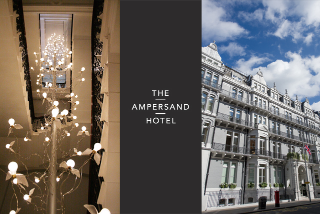 Ampersand Hotel London, The Drawing Rooms and Apero Restaurant