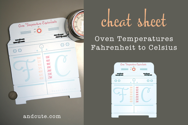 photograph relating to Printable Celsius to Fahrenheit Chart named Printable Oven Weather conditions Conversion Fahrenheit and Celsius