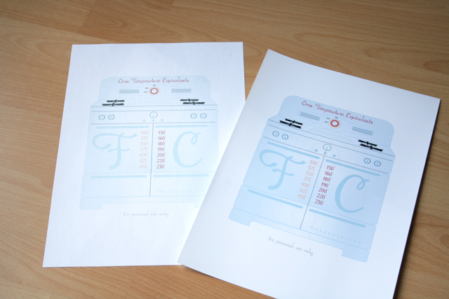 Print Oven Temperatures Regular Vs Photo Paper