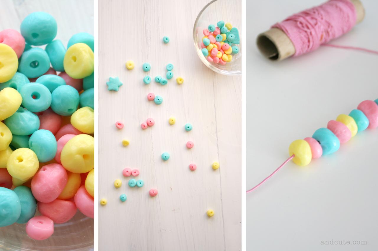 Fondant Candy Beads Necklace
