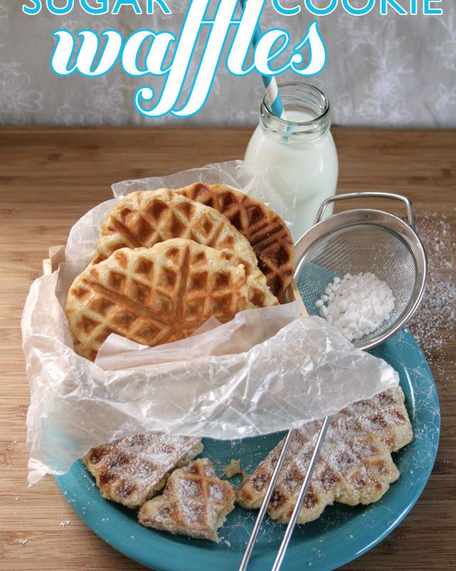 Sugar Cookie Waffles