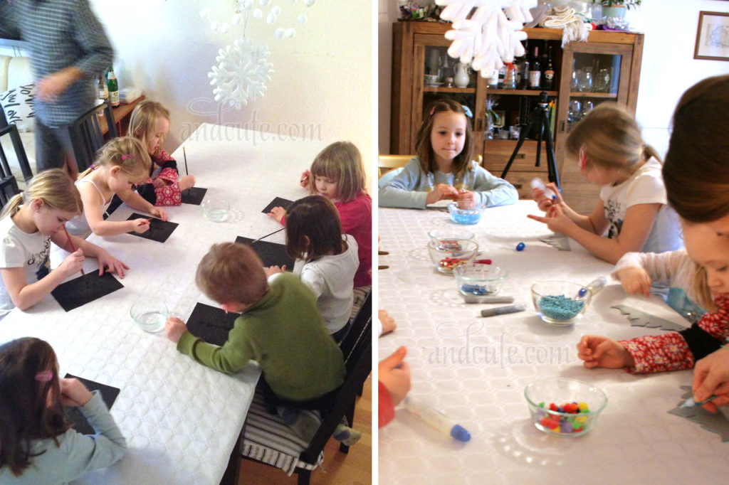 Frozen Party Activities for Kids